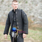 Medieval Gambeson Aketon padded Costumes dress shirt gear vest With under armor
