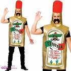 Gin Tequila Vodka Beer Novelty Fun Stag Drinks Bottle Adult Fancy Dress Costume