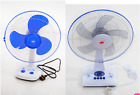 16 inch FAN 3 SPEED OSCILLATING STANDING COOLING DESK TABLE FAN WITH TIMER