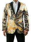 Black and Gold Suit, Hand Paiinted Men's Gold Blazer, New Orleans Saint Jacket $249.49 USD on eBay