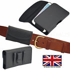 LEATHER BELT CLIP & LOOP HOLSTER PHONE POUCH CASE COVER FOR SAMSUNG GALAXY