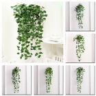 1pcs Artificial Fake Leaves Plastic Plant Flower Wall Hanging Home Garden Decor