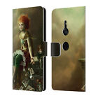 OFFICIAL MÉLANIE DELON MYSTERY LEATHER BOOK WALLET CASE FOR SONY PHONES 1