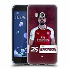 OFFICIAL ARSENAL FC 2017/18 FIRST TEAM GROUP 2 GEL CASE FOR HTC PHONES 1