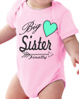 Infant Creeper Bodysuit T-shirt Big Sister Finally