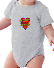 Infant creeper bodysuit One Piece t-shirt My Grandma Loves Me Just The Way I Am