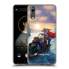 OFFICIAL LONELY DOG CHRISTMAS GEL CASE FOR HUAWEI PHONES