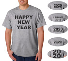 2020 New Years Eve Gray T-shirt  Happy New Year 6 Designs
