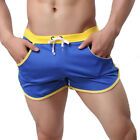 CA Men's Workout Casual Jogging Pants Gym Shorts Training Running Sport Trousers