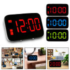 LED Digital Snooze Electronic USB Alarm Clock Night Light for Bedroom Home Decor