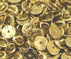 Brass clutch backs pin backs insignia badge guards lot of 4 pc to 1000 pcs