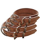Handmade Dog Collar For Large Dogs Heavy Leather Adjustable S/M/L/xl Collars