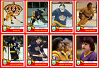 LOS ANGELES KINGS 1974-75 High Grade Hockey Card Style PHOTO CARDS  U-Pick THICK $2.25 CAD on eBay