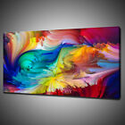 ABSTRACT COLOURFUL PAINT CANVAS PICTURE PRINT WALL HANGING ART HOME DECOR