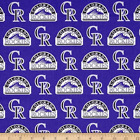 MLB Colorado Rockies Baseball Curtailn Panels on Ebay