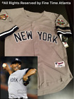 NEW Mariano Rivera New York Yankees Men's 2001 World Series Road / Grey Jersey on Ebay