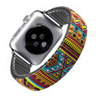 Elastic Stainless Steel Stretch Watch Strap Band For Apple Watch Iwatch 40 44MM image