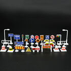 28pcs/set TOY TRAFFIC ROAD SIGNS PLAY SETS MODEL CAR TOWN Toys Kids Gigts
