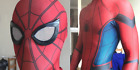 Spider-man Homecoming Spiderman Cosplay Suit w/ NEW Premium Lenses, Mask, Lyrca!