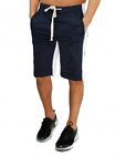 Imperious Navy/White Contrast Track Shorts