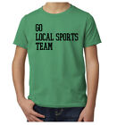 Go Local Sports Team, Kid's Funny Graphic Tees, Basketball Shirts
