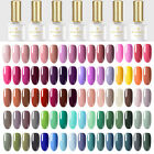 BORN PRETTY Soak off UV LED Nail Gel Polish Color Base Top Coat Varnish UV Gel