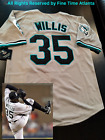 NEW Majestic Dontrelle Willis Florida Marlins Men's 1993 Style Road Retro Jersey