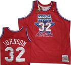 Magic Johnson Mitchell and Ness Los Angeles Lakers All Star Jersey 4XL $300 on eBay