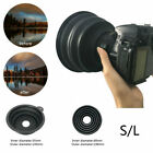 Flexible Telescopic Lens Hood - Removing Glare By Day And Reflections By Night