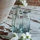 Small Clear Glass Bud Vase, Sturdy Vintage Style - 11cm Or 13cm