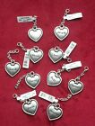 Ganz Double Sided Heart Silver Name Charm Zipper Pull Incl. Alexa Beth  Carrie  image