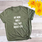 Sayings Funny T-shirt Mother Gift Shirt Hipster Slogan Tops Tee Women club Tee