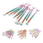 MAANGE 10 pcs Mermaid Beauty Makeup Brushes Set OR 1 Pcs Bag Brush Case Cos U5L5