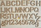 Arial Mdf Letters Numbers Wooden Decoration Words 4 Mm Thick Mdf Alphabet