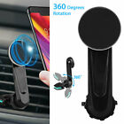 Universal Power Clip Wing Car Mount Air Vent Magnetic Phone Holder 360 Rotation