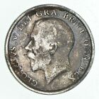 WORLD Coin - 1918 Great Britain 1/2 Crown - World Silver Coin - 13.8g *166