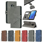 Newest Pure Business Wallet Leather case cover skin with strap for Samsung phone