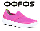 🔥OOFOS OOMG Women's Recovery Footwear Impact Absorption SHOES White Pink NEW!