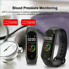 M4 Smart Band Watch Bracelet Wristband Fitness Tracker Blood Pressure HeartRate#