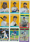 2019 Topps Archives Complete Base Card TEAM SETS You Pick EXPOS, Blue Jays etc