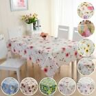 1 Pc Waterproof Oil Proof PVC Table Cloth Cover Home Dining Kitchen Decor