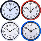 Large Vintage Round Modern Home Bedroom Retro Time Kitchen Wall Clock Quartz BIN