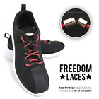 No Tie Capsule Elastic Shoe Laces Shoelaces for Sneakers Runners in Many Colors