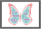 Mummy+Mum+Mother+Personalised+Picture+Print+Christmas+Birthday+Butterfly+Gift