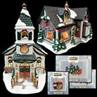 HERSHEY'S PROCELAIN LIGHTED CHRISTMAS HOLIDAY VILLAGE HOUSES & ACCESSORIES