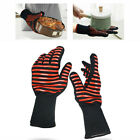 Heat Proof Resistant Gloves Oven Grill Pot Holder BBQ Cooking Mitts Kitchen Tool