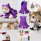 Pet Dog Puppy Cat Halloween Wing Costume Toy Dress Hood Outfit Hair Collar Cloth