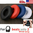New Replacement Ear Pads Cushion For Beats by Dr Dre Solo 2 Wired Only $6.99 USD on eBay