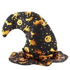 Masquerade Witch Wizard Hat Adult Kids Cosplay Halloween Party Fancy Dress Decor