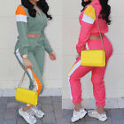 Two Piece Set Top And Pants Womens Tracksuit Club Outfits Lady Casual Sweatsuits